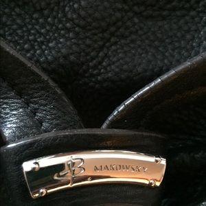B Makowsky Bags - B Makowsky black leather slightly used purse.